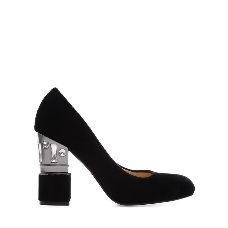 Kemal Tanca Kadın Kumas Abiye Ayakkabı