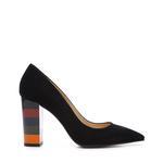 Kemal Tanca Kadın Vegan Kalın Topuklu Ayakkabı