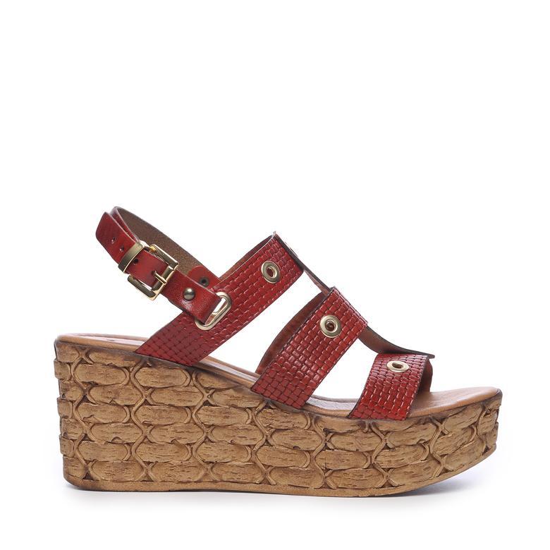 Kemal Tanca Kadın Sandalet Sandalet