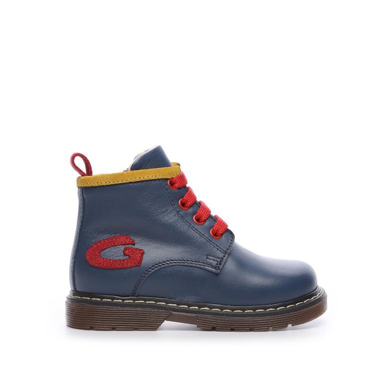 Alberto Guardiani Çocuk Derı Çocuk Bot Ayakkabı