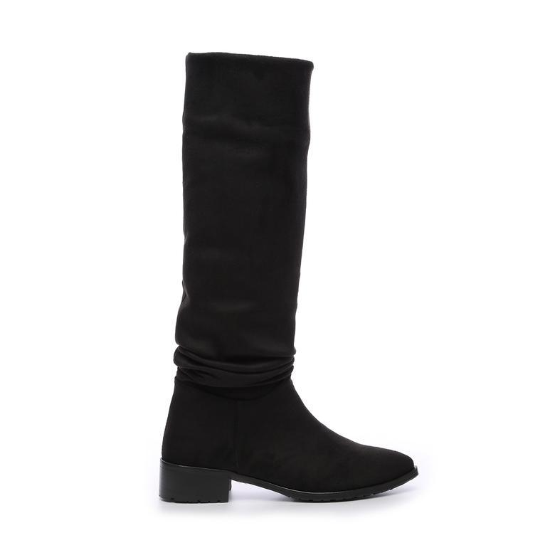 Kemal Tanca Kadın Kumas Çizme Çizme