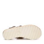 Kemal Tanca Kadın Derı Casual Sandalet