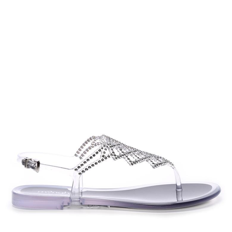 Menghi Kadın Swarovskı Tas Sandalet Sandalet
