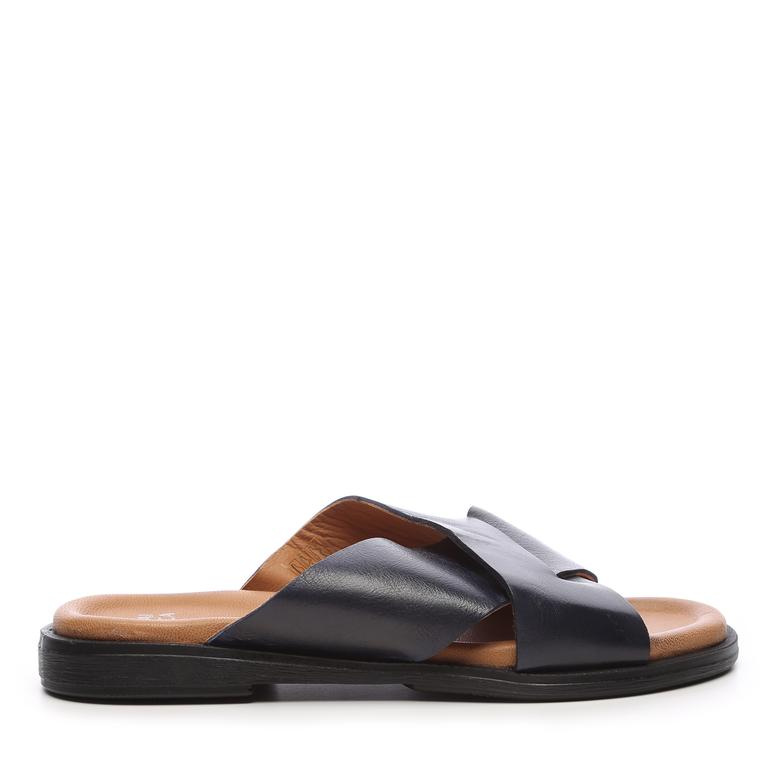 Kemal Tanca Erkek Derı Sandalet & Terlik Terlik