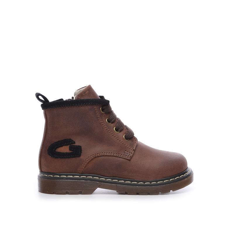 Alberto Guardıanı Çocuk Derı Çocuk Bot Ayakkabı
