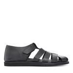 Kemal Tanca Erkek Derı Sandalet Sandalet