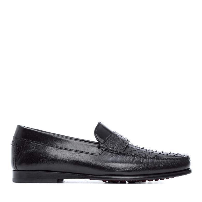 Tamer Tanca Erkek Derı Drıver Ayakkabı