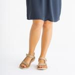 Kemal Tanca Kadın Tekstıl Sandalet Sandalet