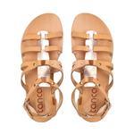 Kadın Derı Spor Sandalet