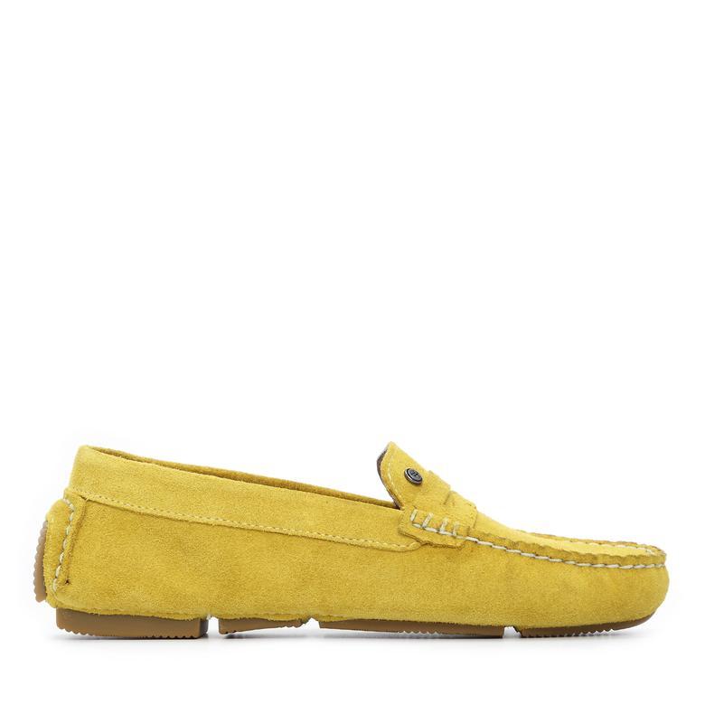 Kemal Tanca Kadın Derı Drıver Ayakkabı